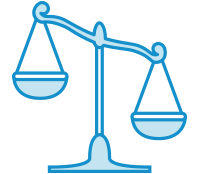 Legislation Scale Icon