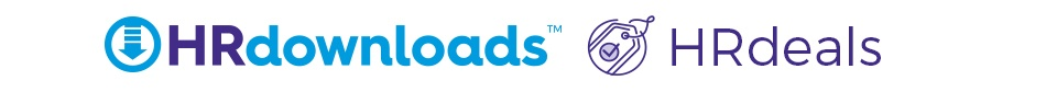 HRdeals and HRdownloads Logo