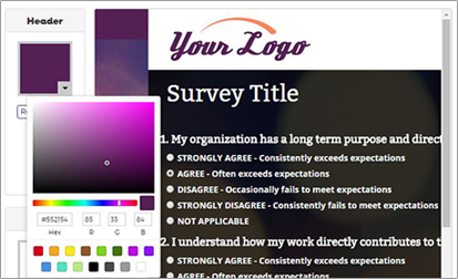 screen cap of adding your own logo
