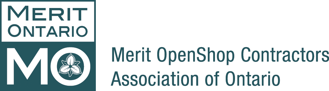 Merit OpenShop Contractors Association of Ontario Logo