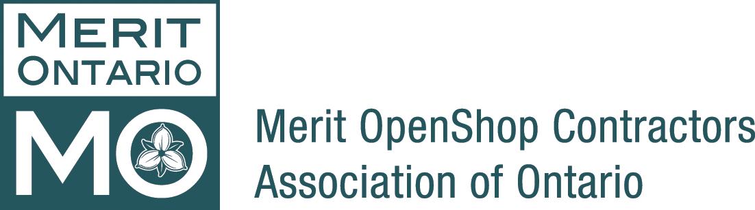 Merit OpenShop Contractors Association of Ontario Logo
