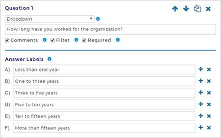 Screen cap of questions