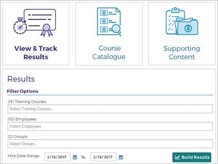 Screen cap of Results